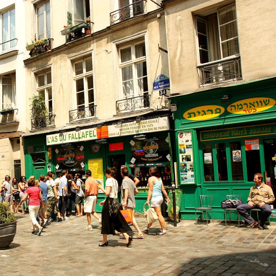 Le Marais Jewish Paris